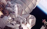 Astronauts embark on surprise spacewalk