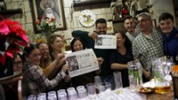 Spain celebrates winners of $2.45 billion lottery