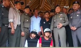Myanmar men sentenced to death for murder of British tourists in Thailand
