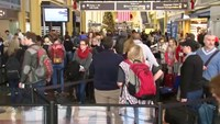 Security tight during busy holiday travel season