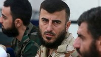 Syria rebel leader killed in air strike