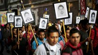 Mexicans demand information about missing students