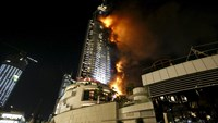 Eyewitness describes Dubai hotel blaze