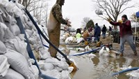 Over 9 million in U.S. Midwest still face flood warnings