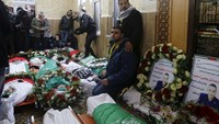 Mass funeral in Hebron