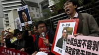 Missing bookseller prompts protests in Hong Kong