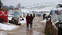 In Lebanon, Syrian refugees brace for another cold winter