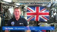 British astronaut sends Queen Elizabeth message from space