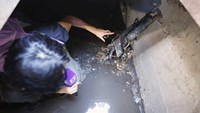 Tunnel used by Mexican drug lord 'El Chapo'