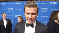 David Beckham's humanitarian efforts honored by UNICEF
