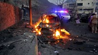 Suicide car bomb in Yemen kills four