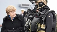 Merkel, commander-in-chief