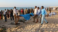 Deadly Islamist attack at Somalia beach