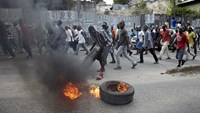 Haitians protest as country postpones election