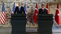 U.S. prepares for military solution against IS in Syria: Biden