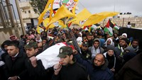 Palestinians mourn 13-year-old girl killed by Israeli forces