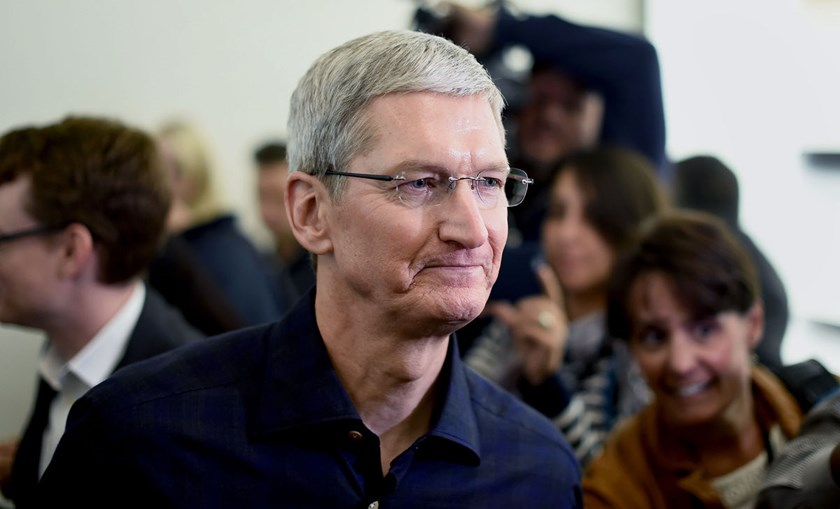 Apple Chief Executive Officer Tim Cook. Photo: Bloomberg/Noah Berger