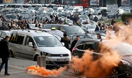 French taxi drivers demand action over 'Uber'