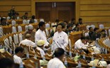 Last Myanmar parliament session under current government