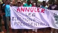 Marchers in Central African Republic demand new vote
