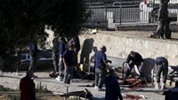 Three Palestinians shot dead after carrying out attack in Jerusalem: police