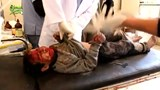 Child casualties reported in Aleppo