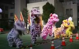 Dragon dances, fireworks mark Lunar New Year
