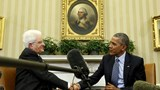 Obama, Italy's Mattarella discuss fight against Islamic State in Libya