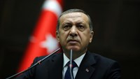 Turkey's Erdogan slams U.S. over Kurdish rebels