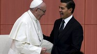 Pope decries corruption and drug trade in Mexico
