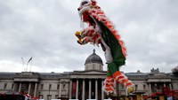 Thousands mark Lunar New Year in London