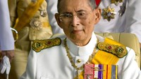 Thailand's king Bhumibol Adulyadej, in 2012. Photographer: Piti A Sahakorn/LightRocket via Getty Images