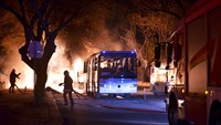 Scores killed in Ankara bomb attack