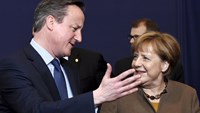 """Will is there"" to keep Britain in EU: Merkel"