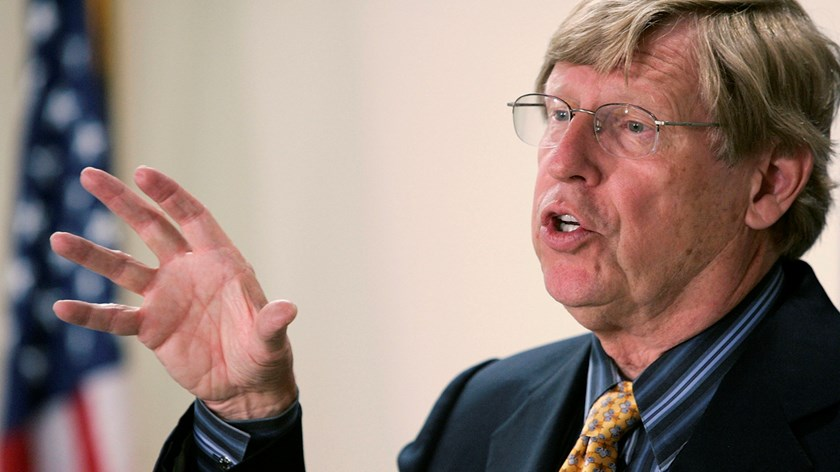Former U.S. Solicitor General Ted Olson. Photo: Alex Wong/Getty Images