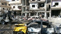 As Syria ceasefire looms, 46 killed in Homs blasts