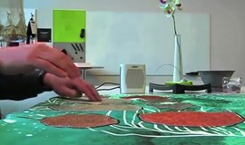 Latest in smart textiles - a musical tablecloth