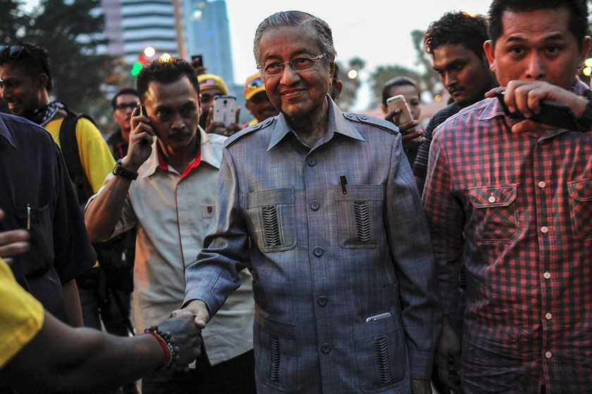 Former prime minister Mahathir Mohamad. Photo: Mohd Rasfan/AFP via Getty Images