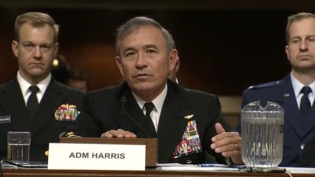 U.S. must deploy anti-ship missile soon in Asia, Admiral says