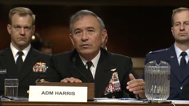 U.S. Navy Admiral Harry B. Harris