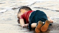 Two Syrians jailed over toddler migrant death