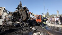 At least 60 killed, scores wounded in Iraq blast