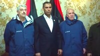 Two freed Italian hostages arrive in Tripoli