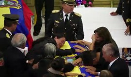 Bodies of Ecuadorian soldiers returned home