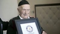 Holocaust survivor confirmed world's oldest man