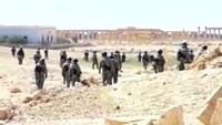 Russian demining teams clear Palmyra