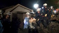 Baby rescued from Japan quake rubble