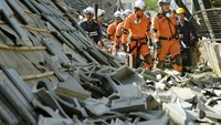 Deadly earthquake in Japan