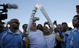 Syrian amputee carries Rio 2016 flame through Athens refugee camp