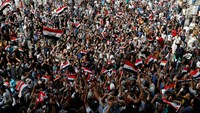 Iraqi protesters end Green Zone sit-in
